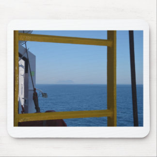 View From A Ship Mouse Pad
