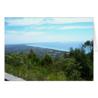 View from Arthur's Seat, Victoria Greeting Card