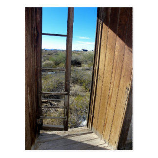 View From Assay Office In Wickenburg, Arizona Postcard