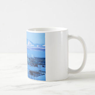view from cemetary coffee mug
