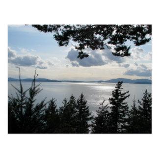 View From Chuckanut Drive Postcard