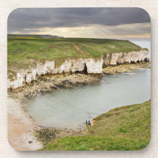 View from Flamborough Cliffs souvenir photo Coaster