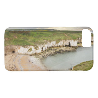 View from Flamborough Cliffs souvenir photo iPhone 8/7 Case