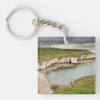View from Flamborough Cliffs souvenir photo Key Ring