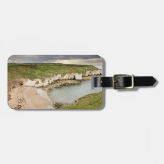 View from Flamborough Cliffs souvenir photo Luggage Tag