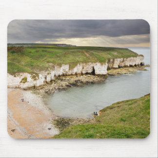 View from Flamborough Cliffs souvenir photo Mouse Pad