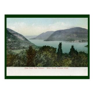 View from Fort Putnam, Hudson River 1906 Vintage Postcard
