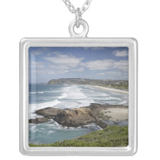 View from Lawyers Head along St Kilda and St Square Pendant Necklace