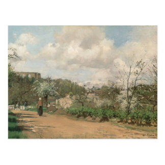View from Louveciennes, 1869-70 Postcard