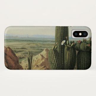 View from Maricopa Mountain Near Rio Gila by Pratt iPhone X Case