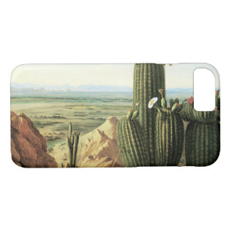 View from Maricopa Mountain near the River Gila iPhone 8/7 Case