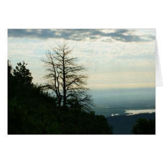 View from Morrison, Colorado Greeting Card