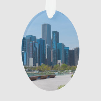 View From Navy Pier Ornament