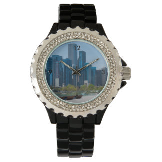 View From Navy Pier Wrist Watch