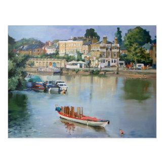 View from Richmond Bridge, Richmond-upon-Thames Postcard