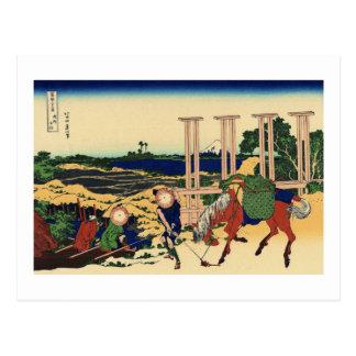 View from Senju, Musashi Province Postcard