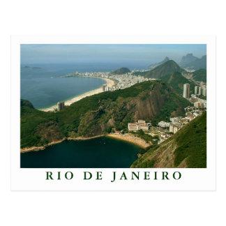 """""""View from Sugarloaf, Rio de Janeiro"""" postcard"""
