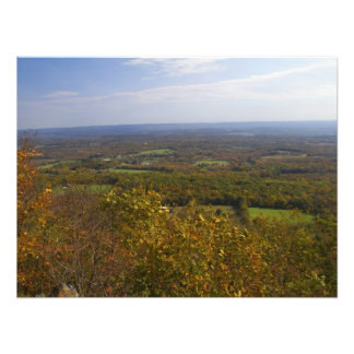 View from Sunrise Mountain – Scenic NJ Photographic Print