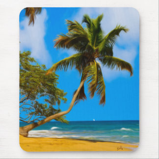 View From The Beach Mousepad