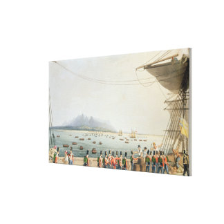 View from the Deck of the Upton Castle Transport, Canvas Prints
