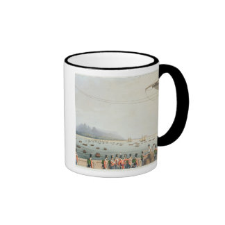 View from the Deck of the Upton Castle Transport, Ringer Coffee Mug