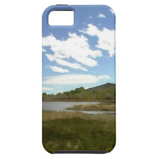 View From the Edge of the Lake iPhone 5 Cover