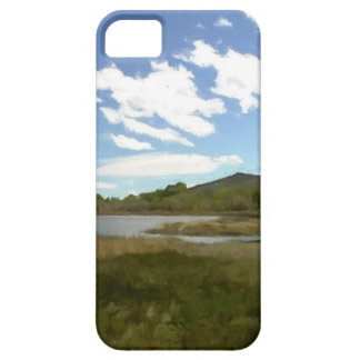 View From the Edge of the Lake iPhone 5 Covers