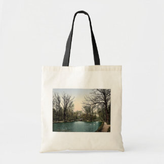 View from the fifth lock, Bromberg, Silesia, Germa Canvas Bag