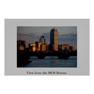 View from the MOS Boston Poster