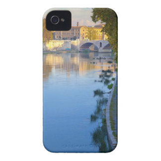 View from the Ponte Sisto Bridge of the Tiber iPhone 4 Case-Mate Case