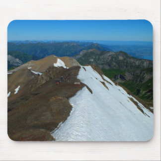 View from the Schilthorn, Switzerland Mouse Pad