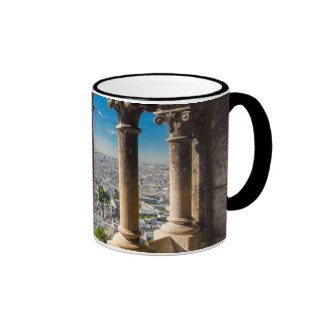 View from the top of Basilique du Sacre Coeur Coffee Mugs