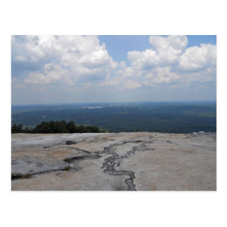View from the Top of Stone Mountain Postcard