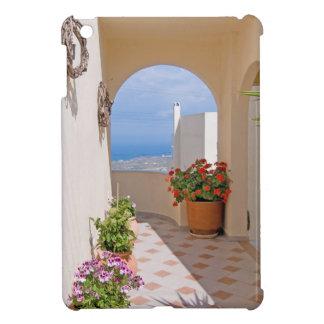 View in Santorini island iPad Mini Case