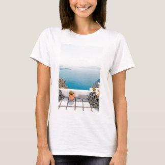View in Santorini island T-Shirt