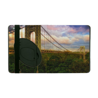 View looking South - West from Manhattan iPad Folio Cover