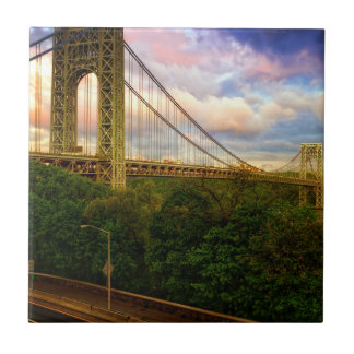 View looking South - West from Manhattan Small Square Tile