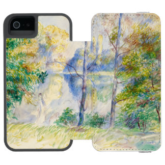 View of a Park by Pierre-Auguste Renoir Incipio Watson™ iPhone 5 Wallet Case