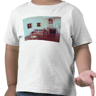 View of a room with a grand piano shirts