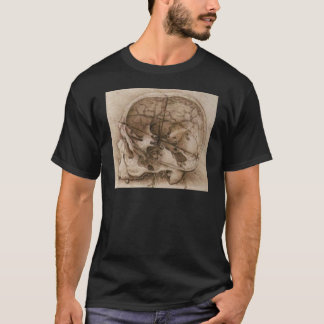 View of a Skull T-Shirt