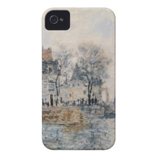 View of Amsterdam by Claude Monet iPhone 4 Case
