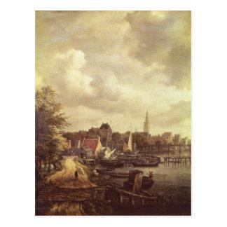 View of Amsterdam Postcard