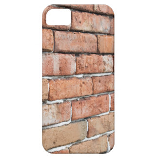 View of an old brick wall with a blur at an angle case for the iPhone 5