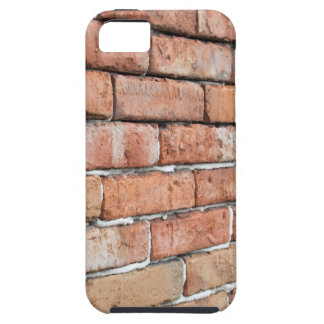 View of an old brick wall with a blur at an angle iPhone 5 case