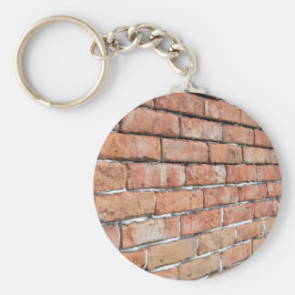 View of an old brick wall with a blur at an angle key ring