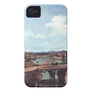 View of an Old Bridge Over the River Po, Turin iPhone 4 Cover