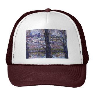 View Of Arles By Vincent Van Gogh Trucker Hats