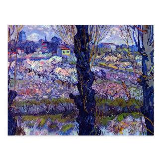 View of Arles by Vincent van Gogh Postcard