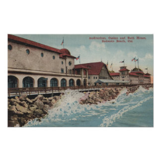 View of Auditorium, Casino, & Bath House Poster