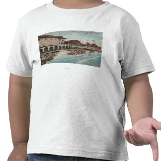 View of Auditorium Casino Bath House Tee Shirt